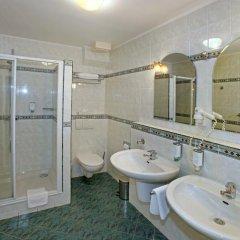 Отель Sant Georg Garni Чехия, Марианске-Лазне - отзывы, цены и фото номеров - забронировать отель Sant Georg Garni онлайн ванная фото 2