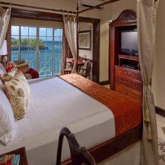 Отель Sandals Royal Plantation - ALL INCLUSIVE Couples Only Ямайка, Очо-Риос - отзывы, цены и фото номеров - забронировать отель Sandals Royal Plantation - ALL INCLUSIVE Couples Only онлайн балкон