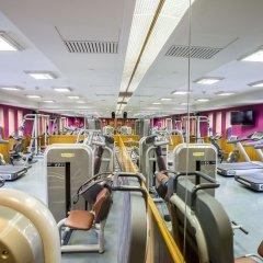 Отель Crowne Plaza Lumpini Park Бангкок фитнесс-зал фото 4
