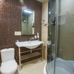 Гостиница Бутик-отель Хабаровск Сити в Хабаровске 2 отзыва об отеле, цены и фото номеров - забронировать гостиницу Бутик-отель Хабаровск Сити онлайн ванная фото 2