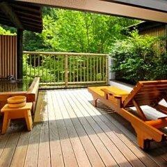 Отель Okunoyu Минамиогуни балкон