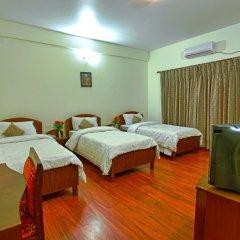 Отель Crown Himalayas Непал, Покхара - отзывы, цены и фото номеров - забронировать отель Crown Himalayas онлайн комната для гостей фото 3