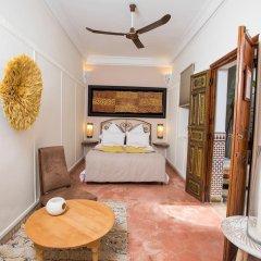 Отель Riad Villa Harmonie Марокко, Марракеш - отзывы, цены и фото номеров - забронировать отель Riad Villa Harmonie онлайн комната для гостей фото 2