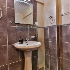 Zinbad Hotel Kalkan Турция, Калкан - 1 отзыв об отеле, цены и фото номеров - забронировать отель Zinbad Hotel Kalkan онлайн ванная фото 2