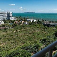 Отель Jomtien Beach Condominium Паттайя балкон
