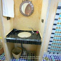 Отель Chez Family Bidouin Merzouga Марокко, Мерзуга - отзывы, цены и фото номеров - забронировать отель Chez Family Bidouin Merzouga онлайн ванная