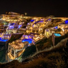 Отель Pegasus Suites & Spa Остров Санторини вид на фасад
