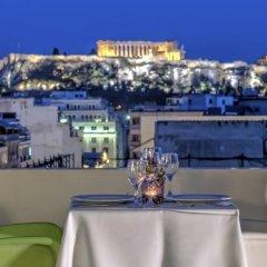 Отель Polis Grand Афины приотельная территория фото 2
