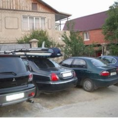Гостиница Пансионат Морское парковка