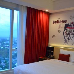Отель Cinnamon RED Colombo Шри-Ланка, Коломбо - отзывы, цены и фото номеров - забронировать отель Cinnamon RED Colombo онлайн комната для гостей фото 4