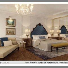 Гостиница Царский дворец 5* Стандартный номер с разными типами кроватей фото 2