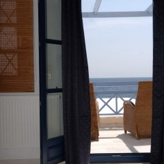 Отель Meltemi Village пляж фото 2