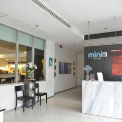 Отель The Mini R Ratchada Hotel Таиланд, Бангкок - отзывы, цены и фото номеров - забронировать отель The Mini R Ratchada Hotel онлайн интерьер отеля фото 2