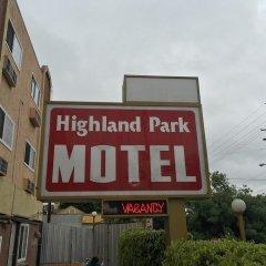 Highland Park Hotel Лос-Анджелес вид на фасад фото 2
