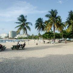 Апартаменты Conch Shell Studio at Sandcastles пляж
