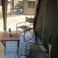 Отель Mahoora Tented Safari Camp - Kumana Шри-Ланка, Яла - отзывы, цены и фото номеров - забронировать отель Mahoora Tented Safari Camp - Kumana онлайн балкон