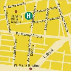 Отель Bonanova Park Испания, Барселона - 5 отзывов об отеле, цены и фото номеров - забронировать отель Bonanova Park онлайн городской автобус