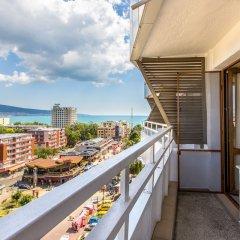 Отель Kuban Resort & AquaPark Болгария, Солнечный берег - отзывы, цены и фото номеров - забронировать отель Kuban Resort & AquaPark онлайн балкон