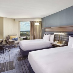 Отель Hilton Newark Airport США, Элизабет - отзывы, цены и фото номеров - забронировать отель Hilton Newark Airport онлайн комната для гостей фото 2