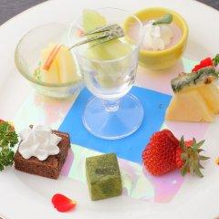 Отель Bettei Soan Минамиогуни питание