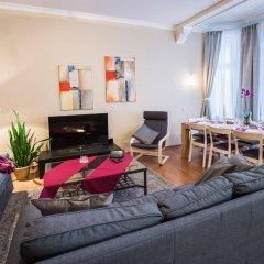 Отель Bearsleys Downtown Apartments Латвия, Рига - отзывы, цены и фото номеров - забронировать отель Bearsleys Downtown Apartments онлайн комната для гостей фото 4