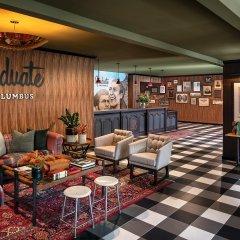 Отель Graduate Columbus США, Колумбус - отзывы, цены и фото номеров - забронировать отель Graduate Columbus онлайн гостиничный бар
