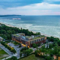 Отель Sopot Marriott Resort & Spa пляж фото 2