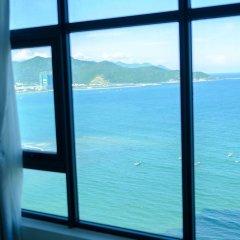 Апартаменты Sunrise Hon Chong Ocean View Apartment Нячанг приотельная территория