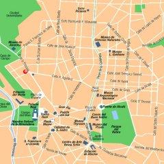Отель T3 Tirol Мадрид городской автобус