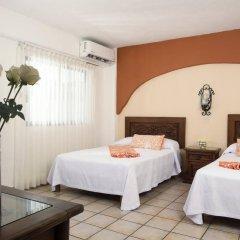 Отель El Pescador Hotel Мексика, Пуэрто-Вальярта - отзывы, цены и фото номеров - забронировать отель El Pescador Hotel онлайн комната для гостей фото 3