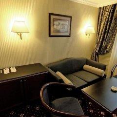 Гостиница Shakhtar Plaza комната для гостей фото 4