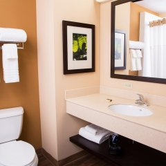 Отель Extended Stay America - Los Angeles - Woodland Hills США, Лос-Анджелес - отзывы, цены и фото номеров - забронировать отель Extended Stay America - Los Angeles - Woodland Hills онлайн ванная фото 2