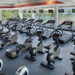 Отель Beach Rotana фитнесс-зал