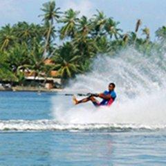 Отель Oasey Beach Hotel Шри-Ланка, Индурува - 2 отзыва об отеле, цены и фото номеров - забронировать отель Oasey Beach Hotel онлайн спортивное сооружение