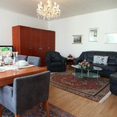 Апартаменты Mozart Apartments Вена комната для гостей фото 2