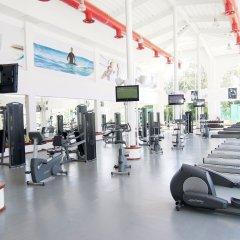 Отель Sandos Playacar Select Club - Только для взрослых, Все включено Плая-дель-Кармен фитнесс-зал