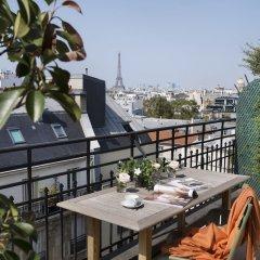 Отель Le Littre Франция, Париж - отзывы, цены и фото номеров - забронировать отель Le Littre онлайн балкон