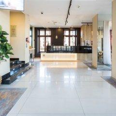 Отель Qubus Hotel Gdańsk Польша, Гданьск - 3 отзыва об отеле, цены и фото номеров - забронировать отель Qubus Hotel Gdańsk онлайн интерьер отеля фото 3