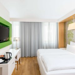 Отель NH Frankfurt Messe комната для гостей фото 3