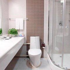 Отель Super 8 Hotel Xian Da Yan Ta Китай, Сиань - отзывы, цены и фото номеров - забронировать отель Super 8 Hotel Xian Da Yan Ta онлайн ванная фото 2