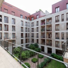 Апартаменты Avantgarde Apartments балкон