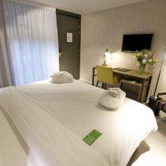 Hotel De Hallen комната для гостей фото 5