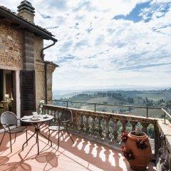 Отель La Cisterna Италия, Сан-Джиминьяно - 1 отзыв об отеле, цены и фото номеров - забронировать отель La Cisterna онлайн балкон