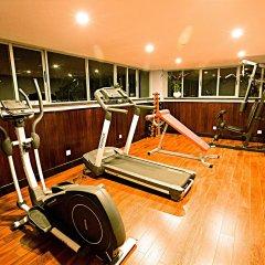 Отель Golden Rain 2 Нячанг фитнесс-зал