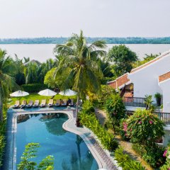 Отель Hoi An Coco River Resort & Spa пляж фото 2