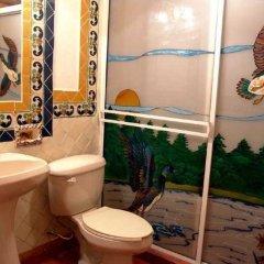 Отель Plaza Mexicana Margaritas Мексика, Креэль - отзывы, цены и фото номеров - забронировать отель Plaza Mexicana Margaritas онлайн ванная