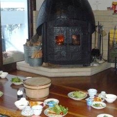 Отель Sekkasai Lodge Хакуба питание