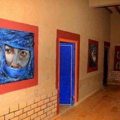Отель La Gazelle Bleue Марокко, Мерзуга - отзывы, цены и фото номеров - забронировать отель La Gazelle Bleue онлайн интерьер отеля