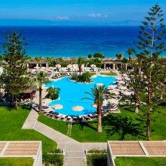 Отель Sheraton Rhodes Resort Греция, Родос - 1 отзыв об отеле, цены и фото номеров - забронировать отель Sheraton Rhodes Resort онлайн пляж