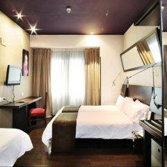 Отель Avenida Gran Via Испания, Мадрид - отзывы, цены и фото номеров - забронировать отель Avenida Gran Via онлайн комната для гостей